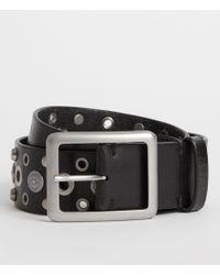 AllSaints - Stella Leather Belt - Lyst
