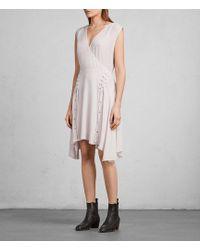 AllSaints | Miller Dress | Lyst