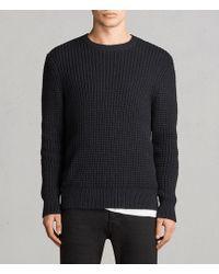 AllSaints | Kee Crew Sweater | Lyst