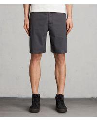AllSaints - Colbalt Chino Shorts - Lyst