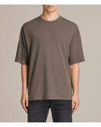AllSaints - Hiruma Crew T-shirt - Lyst