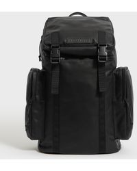 AllSaints - Clermont Leather Rucksack - Lyst