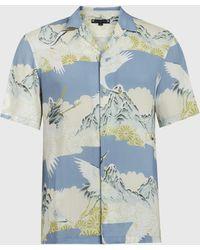 AllSaints Soaring Shirt - Blue
