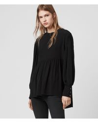 AllSaints Fayre Top Womens - Black