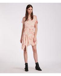 AllSaints Sara Verity Dress - Pink