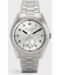 AllSaints Men's Stainless Steel Classic Untitled Vi Watch - Metallic