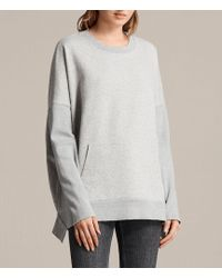 AllSaints - Ivy Crew Sweatshirt - Lyst