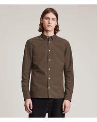AllSaints Men's Canaan Shirt - Multicolour