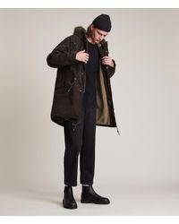 AllSaints Coln Parka Coat - Black