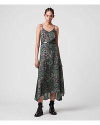 AllSaints Essie Paradeep Dress - Green