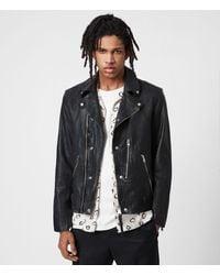 AllSaints Berwick Biker Mens - Black