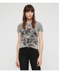 AllSaints - Syner Imogen T-shirt - Lyst