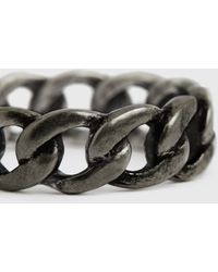 AllSaints Francis Ring Mens - Metallic