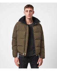 AllSaints - Novern Reversible Puffer Jacket - Lyst