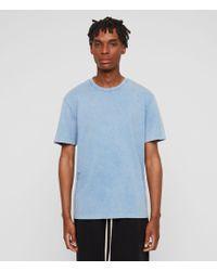 AllSaints - Acetic Crew T-shirt - Lyst