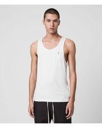 AllSaints Tonic Unterhemd Mens - Weiß