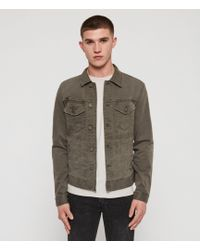 AllSaints - Belize Denim Jacket - Lyst