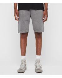 AllSaints Pierce Sweat Shorts - Gray