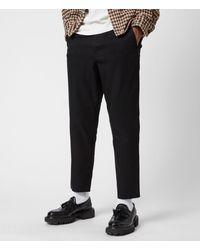 AllSaints Mens Cotton Slim Fit Kato Pants Size: 36 - Black