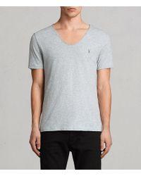 AllSaints - Tonic Scoop T-shirt - Lyst