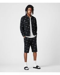 AllSaints Fenner Chino Shorts - Black