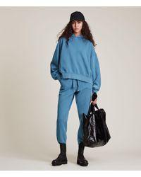 AllSaints Women's Natural Cut-off Joggers - Blue