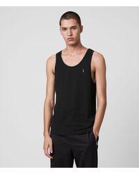 AllSaints Tonic Unterhemd Mens - Schwarz