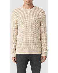 AllSaints - Kargg Crew Sweater - Lyst