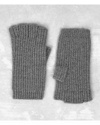 AllSaints - Tornn Knitted Gloves - Lyst