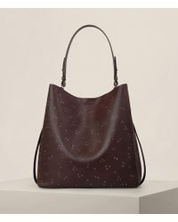 AllSaints - Junai North South Tote - Lyst