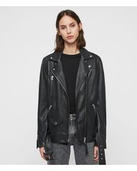 AllSaints Eline Oversized Bike - Black