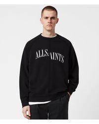 AllSaints Diverge Crew Mens - Black