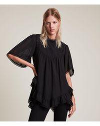 AllSaints Nico Top Womens - Black