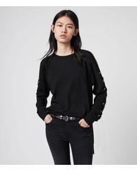 AllSaints Cross Pullover Womens - Schwarz