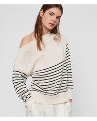 AllSaints Ives Breton Pullover Womens - Weiß