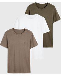 AllSaints - Brace Tonic 3 Pack T-shirts - Lyst
