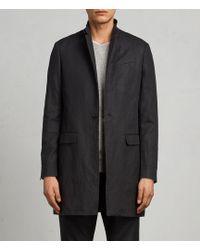 AllSaints - Hirst Coat - Lyst