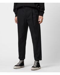 AllSaints Tallis Cropped Slim Pants - Black