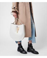 AllSaints Beaumont Hobo Womens - White
