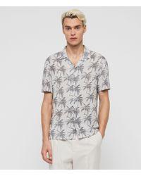 AllSaints Santacruz Shirt - White