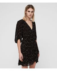 AllSaints Gracie Nala Dress - Black