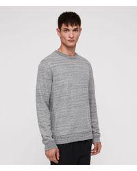 AllSaints - Mind Crew Sweatshirt - Lyst