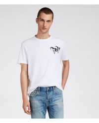 AllSaints - Tryst Crew T-shirt - Lyst