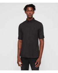 AllSaints - Redondo Half-sleeved Shirt - Lyst