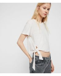 AllSaints Tujen Stripe T-shirt - Multicolor