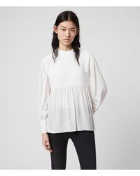 AllSaints Fayre Top - White