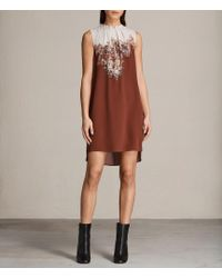 AllSaints - Jay Clement Dress - Lyst
