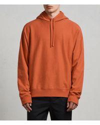 AllSaints - Gethian Pullover Hoodie - Lyst