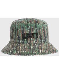 AllSaints Camo Bucket Hat - Green