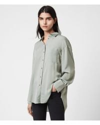 AllSaints Bernie Shirt - Green